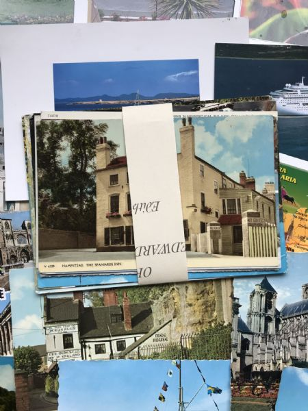 10 Assorted Postcards